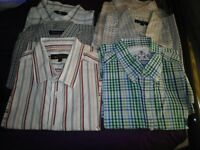 Various Casual Mens Short Sleeves Shirts £2 each only
