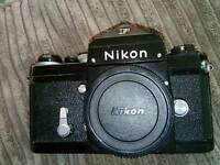 VERY RARE!! NIKON F VINTAGE FILM ANALOGUE BLACK PROFFESIONAL CAMERA! FULLY WORKING! OPEN TO OFFERS!!