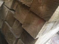 Wooden fence post 4x4 Pressure Treated