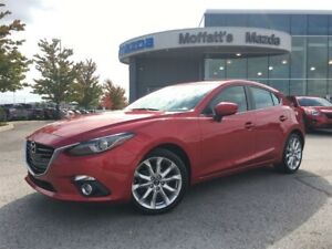 2015 Mazda Mazda3 Sport GT-L SPORT GT-LUX PKG. LEATHER, SUNROOF,