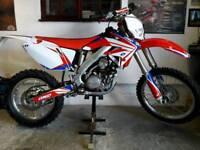 * ROAD LEGAL HONDA CRF 250 R ENDURO CRF250 450 125 CR YZF EXC WRF KXF KTM *