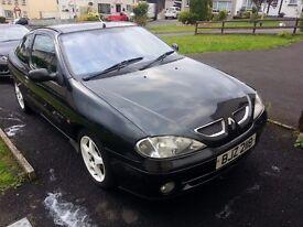 2001 Renault Megane Coupe 1.4 16v