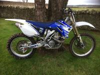 Yamaha YZF450 2008 Motocross Bike.