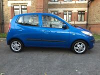 Hyundai I10 1.2 Comfort 5dr , 1 Owner with Full Service , Outstanding Condition . £2400