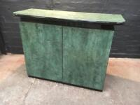Lovely modern great marble effect two door Sideboard