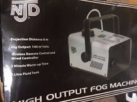 Fog/steam machine for parties, dj or shows/performances used once