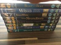 Disney princess DVDs limited editions