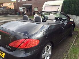 Peugeot 307cc for sale £1800 ovno - Good condition inside & Out - Excellent example great drive