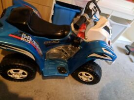 Ride on electronic Quad Bike toy with 6V Battery