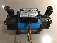 Wickes twin impeller shower pump