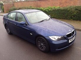 2006 06 Reg BMW 3 Series 320 2.0 D SE, Saloon, 4dr, Diesel, Metallic Blue, 6 Speed Manual, New MOT