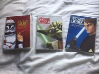 Star Wars-The Clone Wars Seasons 1-3 DVDs