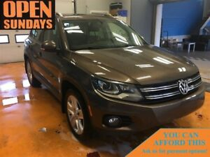 2015 Volkswagen Tiguan HIGHLINE! AWD! LEATHER! SUNROOF!