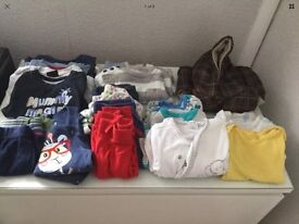 Baby boy bundle of clothes 6-9 months