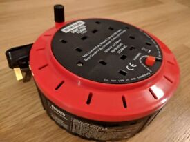 Status 13 A 4 Socket Cassette Reel with Thermal Out, extension cord