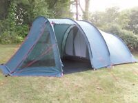 Large 5 man family tent, great condition, seperate bedrooms and living area with windows