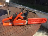 Still HS45 petrol hedge trimmer and Dolmar PS-340 chainsaw for sale