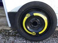Space saver VW Polo tyre