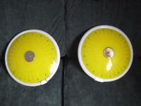 retro/antique lights flying saucers very rare