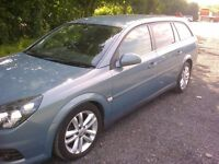 VAUXHALL VECTRA ESTATE 1,9 SRI CDTI. 150 BHP 6 SPEED. FSH. 07 REG.