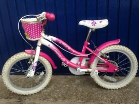 "Pink Bike Ammeco Petal 16"""