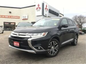 2016 Mitsubishi Outlander GT 0.9 %(LEATHER, SUNROOF, POWER SEATS