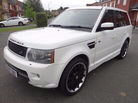 55 Land Rover Range Rover Sport 4.2 V8 Supercharged First Edition 5dr FULL OVERFINCH STYLING LOOK!!