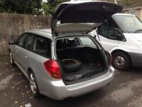 Subaru Legacy nice car have gaas and petrol nice to drive