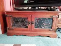 'Old Charm' Oak TV Cabinet