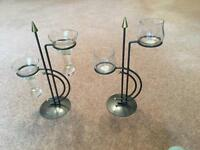 Candle holder ornaments