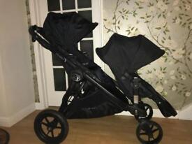 Baby Jogger City Select Double Buggy - BLACK
