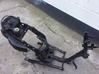 piaggio fly 2007 frame replacement part