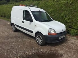 Renault kangoo van mot till jan 19 .very clean and reliable £1000 Ono