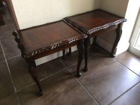 Pair of Wooden Tables