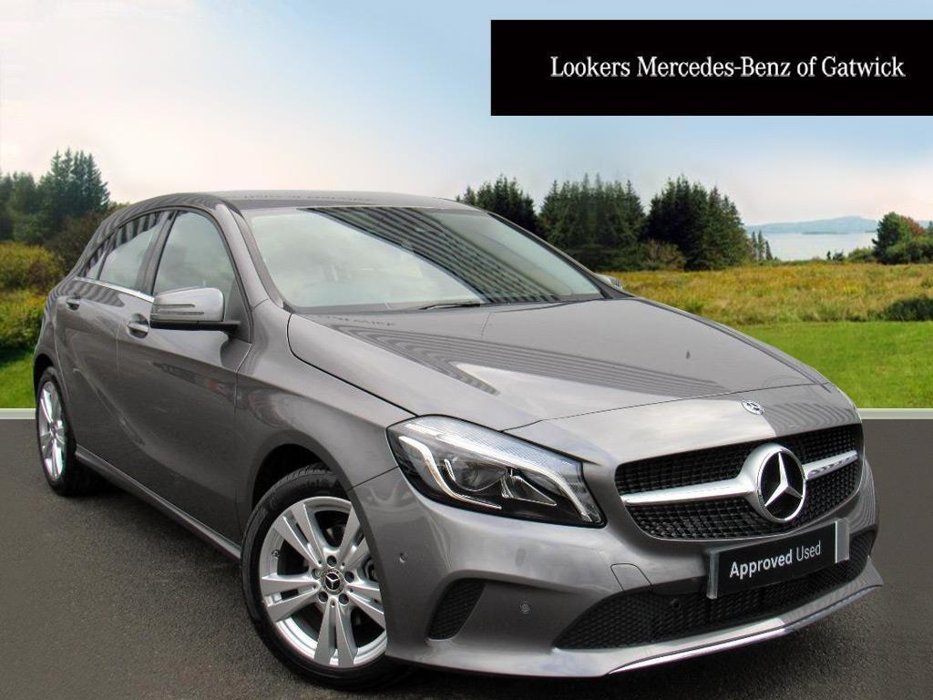 mercedes benz a class a 180 d sport premium grey 2018 01 31 in crawley west sussex gumtree. Black Bedroom Furniture Sets. Home Design Ideas