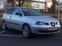 SEAT IBIZA 1.2, 2004 (04 REG)**£699**LONG MOT*SERVICE HISTORY*ALLOY WHEELS*PX WELCOME*DELIVERY