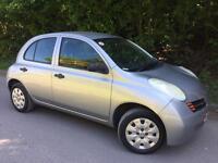Nissan Micra Automatic 1.2 , 2004 5DOOR, HPI Clear, MOT Till 26/04/2018