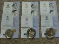Silver Coins, Royal Golden Wedding