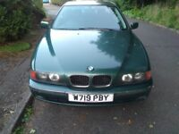 BMW 5 Series Auto 2.0 520i SE 4dr 10 Months MOT Low Mileage Racing Green Automatic