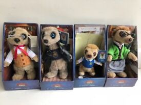 Set of 4 Yakovs Meerkats