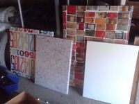 FREE 3 X large canvas canvasas pictures paintings . joblot biggest is 4ft x 5ft ish,COULD DELIVER