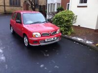 NISSAN MICRA 1.0 VIBE3 DOOR (ONLY 45771 MILES FROM NEW)