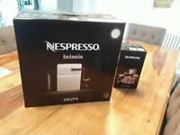 Nespresso coffee machine and Aerocinno milk froffer
