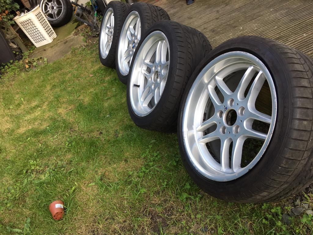 Bmw M Parallel Style 37 Genuine Staggered Wheels E39 E38 In Chingford London Gumtree