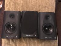 3 Wharfedale diamond 7.1 100w Hifi Speakers
