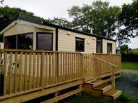 2013 static caravan for sale 24x12 2 bedrooms near pwllheli north wales