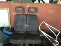 double van seat of ldv convoy ex police van wants good clean £40 i have 2 to chose from