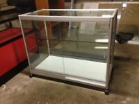 Retail Glass display cabinet - £125 No Offers