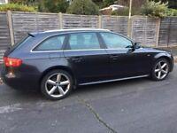 Automatic Audi A4 Avant S-Line