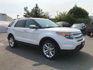 2014 Ford Explorer Limited AWD Navigation Dual Sunroof 7-Passang